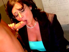 Horny Student banging His Hot Teacher Mrs. Sterling