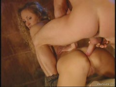 Anal Fucking For The Lovely Blonde Babe Mandy Bright