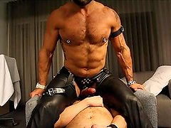 Rogan Richards is a leather pig