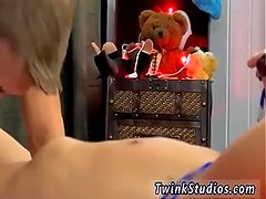 Adorable gay twink spanked porn and hot
