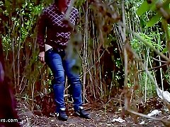 Peeping on girls in nature 100989