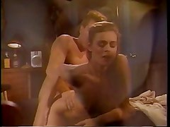Naked chick gets fingered and oral sex
