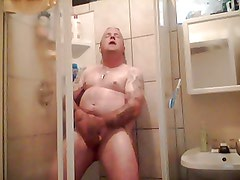Me in the shower