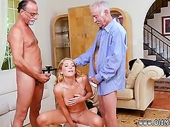 Teen anal threesome old man Frannkie And