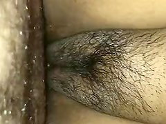 Fat and cameltoe pussy creampie