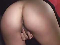 Hot Beurette Suck and ass fuck in The Car