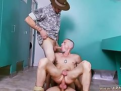 Nude military men  of physical exam
