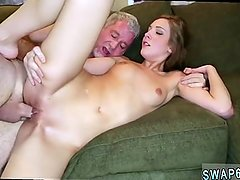 Mom caught partner's daughter and step