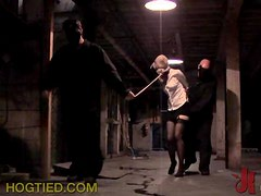 Helpless Babe Getting Abused In BDSM Vid
