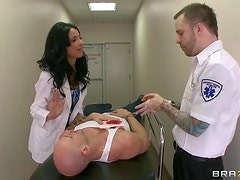 Horny Doctor Anissa Kate Heals A Patient With A Hard Fuck