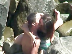 voyeur video teens fuck secretly at the beach
