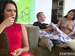 Real daddy fuck companion's daughter Mommy