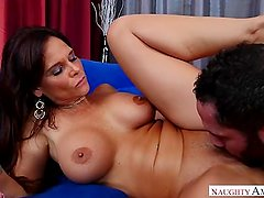Step mom Syren De Mer helps son