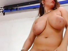 Dancing big boobs
