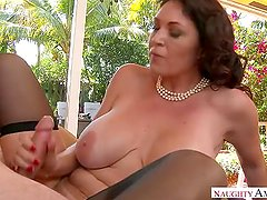 Mature MILF Charlee Chase Adorable Step Mom loves cocks inside her pussy
