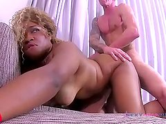 A white boy with tattoos and can fuck me good / Sexy Nina Rivera