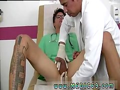 Gay grandpa doctor sexy jock physical