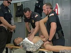 Gay nasty cops naked male sex first time