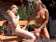 Rabbit dildo xxx Kate & Tanya in the sun