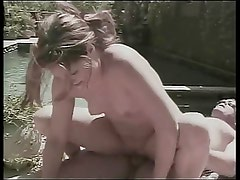 Sexy babe gets her pussy licked in a 69 position and then gets fucked