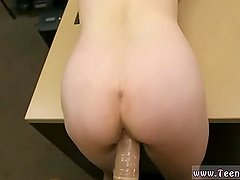 Teen brunette fucked in hotel first time