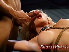 Tied and fingered rough pussy xxx
