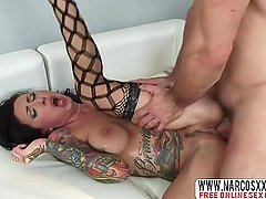 Generous Mother Lily Lane In Stockings Makes Wild Cock