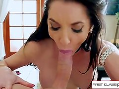 First Class POV - Watch Milf Silvia Saige sucking a big dick, big boobs