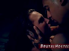Three mistress and slave rough bisexual