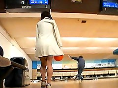 Saki Tsuji boobs exposed at the bowling alley and groped