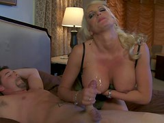Lingerie Action With The Ever So Seductive Blonde Stormy Daniels
