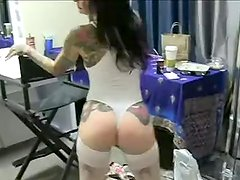 Joanna Angel pov on set