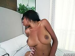 Huge black cock ebony Brittney White Takes