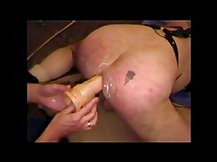 Ass use (Spanked, Fucked And Big Dildo)
