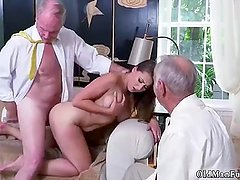 Teen age girl and trio hd Ivy impresses