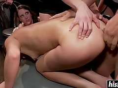 Alysa Gap gets her holes destroyed