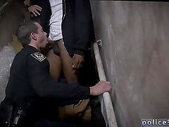 Police naked men gay porn movie Suspect on