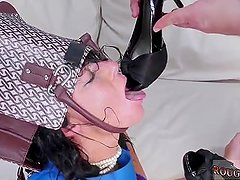 Extreme hog tied first time Fuck my ass,