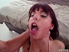 Tickle punishment 1 and hard whipping Gina