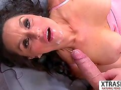 Super Step Mom Rita Daniels Gives Blowjob Sweet Tender Friend