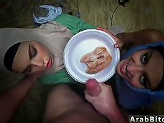 Arab wife fucked Sneaking in the Base!