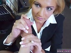 Pure white Hot Milf Banged At The PawnSHop
