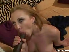 MILf call for help with a black guy