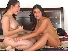 Adriana Chechik and Gabrielle Paltrova are Naughty and Horny