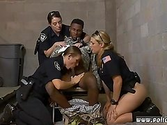 German blonde milf fucked Fake Soldier Gets