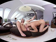 VIRTUAL TABOO - Stepmom Fucking And Licking Daughter's Pussy