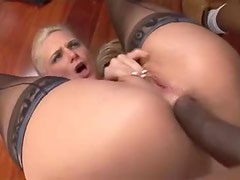 Phoenix Marie flexible anal with black cock
