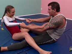Teen Jamie Elle Gets A Serious Fuck From Her Gymnastics Instructor