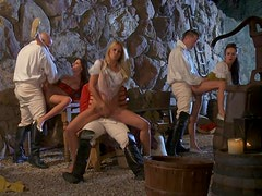 Big Taime Orgy With The Blonde And Brunette Babes Alektra Blue And Kortney Kane