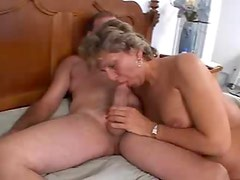 Teen with jizz leaking from her pink cunt